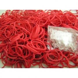 Rode elastiekjes 600 stuks