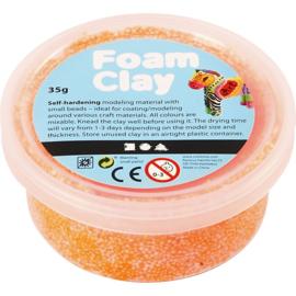 Foam Clay neon  oranje 35 gram