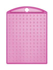Medaillon transparant roze