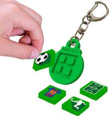 Pixie crew groen sleutelhanger incl 4 leuke pixies
