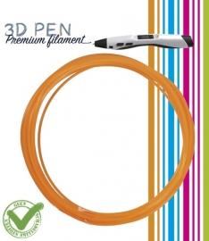 3D Pen filament PLA - 5M - oranje fluor