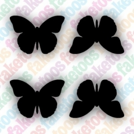 (149) Mini Butterflies