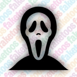 (H11) Scream Mask