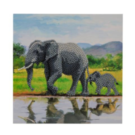 Crystal card Elephans