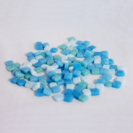 Colourful Squares mix 75 gram - Aqua Isles