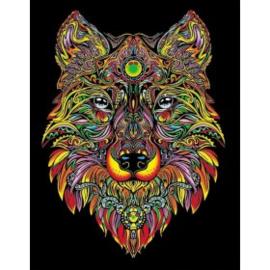 Wolf Large 35x47 cm