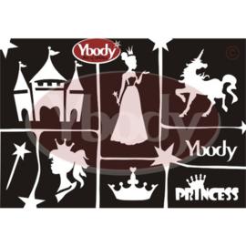 A5 Princess stencil