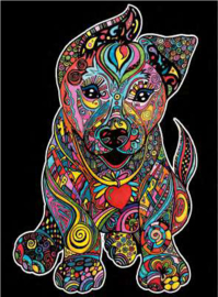 Puppy Large 35x47cm