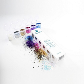Glamour Chunky Glitter Mix 6-pack