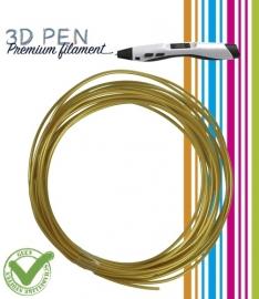 3D Pen filament PLA - 5M - goudgeel