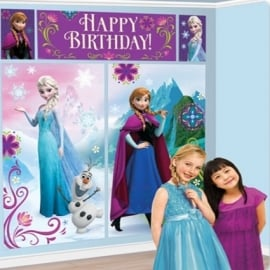 Frozen muur decoratie kit