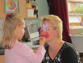 Workshop schminken voor ouder en kind(eren)