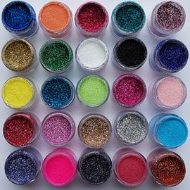 Glitterset 25 kleuren