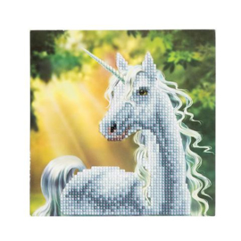 Crystal card Sunshine Unicorn