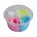 Foam clay 4 kleuren set - glitter 80 gram