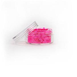 Chunky glitter fluoresent pink (8ml)