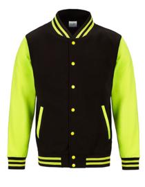 Electric Varsity Jacket Volwassen (4 verschillende kleuren)
