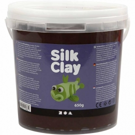 Silk Clay bruin 650 gram