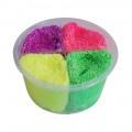 Foam clay 4 kleuren 80 gram neon