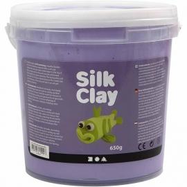 Silk Clay paars 650 gram