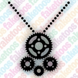 Necklace Steampunk (157)