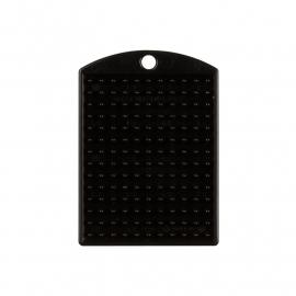 Medaillon zwart 11x14 pixels