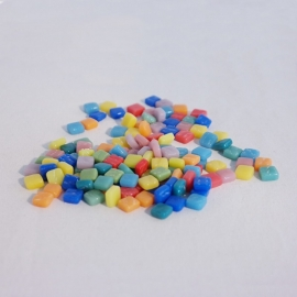 Colourful Squares mix 75 gram - Tutti Frutti