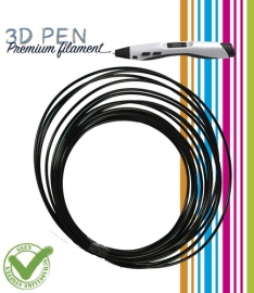 3D Pen filament PLA - 5M - zwart