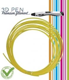 3D Pen filament PLA - 5M - geel