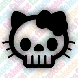 (083) Hello Kitty - Skull