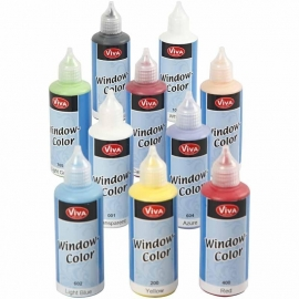 Window Color 10x80ml