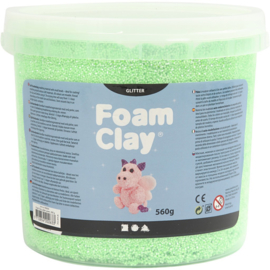Foam clay glitter groen 560 gram