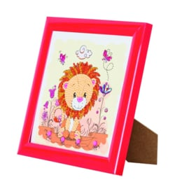 Crystal Art kinder frame Lion Meadow
