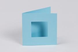 4 st. Passe-partout blauw