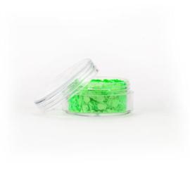 Chunky glitter fluoresent green (8ml)