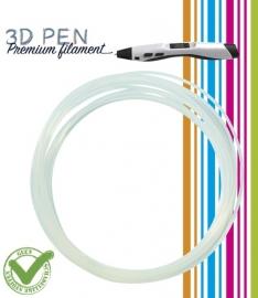 3D Pen filament PLA - 5M - transparant