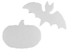 Pompoen en vleermuis