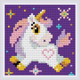 Litte Unicorn 10x10cm