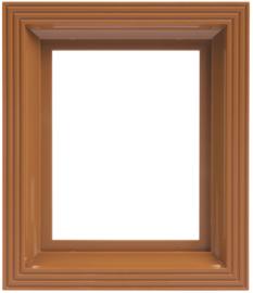 Frame oker-bruin
