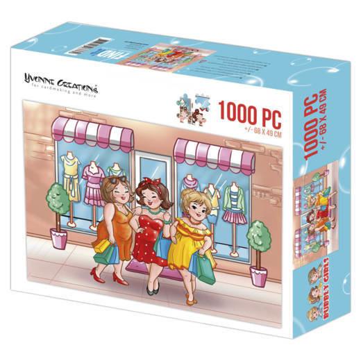 Bubbly Girls shopping 1000 stukjes