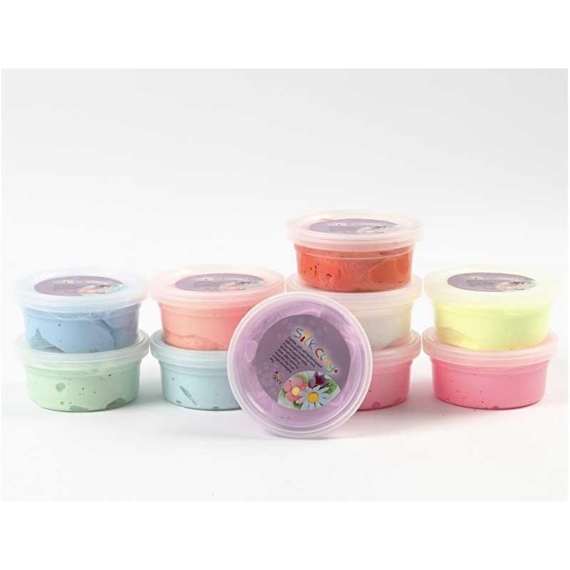 Silk Clay Assortiment basis 1, 10x40 gram