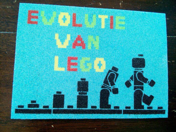 Lego evolutie