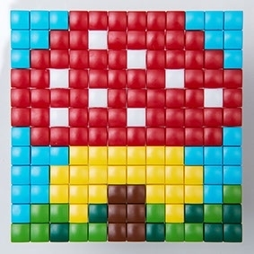 Wonderlijk Koelkast magneten maken met pixel XL | Workshops voor kinderen HZ-37
