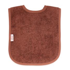 Slab copper brown met naam