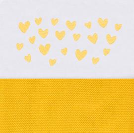 Laken met hartjes (in diverse kleuren verkrijgbaar)