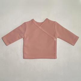 Overslagshirt old pink
