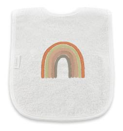 Slab met regenboog in aardetinten