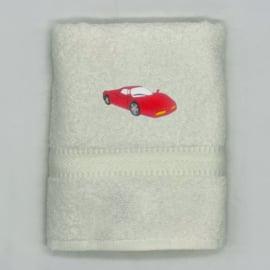 Handdoek met race-auto