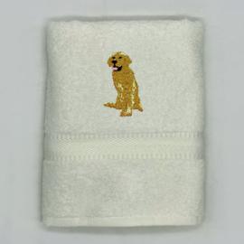 Handdoek met labrador