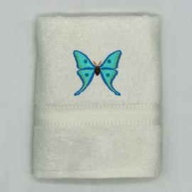 Handdoek met vlinder